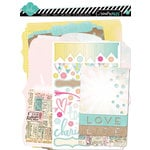 Heidi Swapp - Dreamy Collection - Memory Files Kit