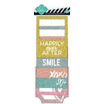 American Crafts - Heidi Swapp - Dreamy Collection - Glitter Paper Frames