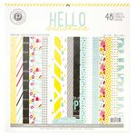 Pink Paislee - Hello Sunshine Collection - 12 x 12 Paper Pad