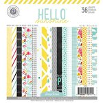 American Crafts - Pink Paislee - Hello Sunshine Collection - 6 x 6 Paper Pad