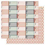 Pink Paislee - Switchboard Collection - 12 x 12 Double Sided Paper - Address Book