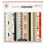 American Crafts - Pink Paislee - Switchboard Collection - 12 x 12 Paper Pad