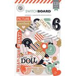 American Crafts - Pink Paislee - Switchboard Collection - Ephemera