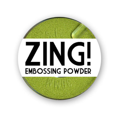 American Crafts - Zing! Collection - Opaque Embossing Powder - Cricket, CLEARANCE