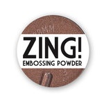 American Crafts - Zing! Collection - Metallic Embossing Powder - Copper, CLEARANCE