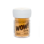 American Crafts - Wow! - Glitter - Extra Fine - Tangerine