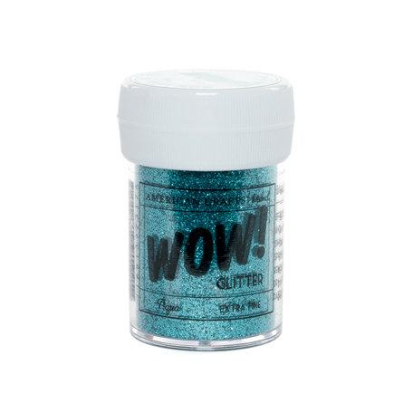 American Crafts - Wow! - Glitter - Extra Fine - Aqua