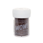 American Crafts - Wow! - Glitter - Extra Fine - Chocolate