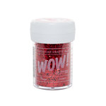 American Crafts - Wow! - Glitter - Chunky - Rouge