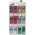 American Crafts - Christmas - Wow! - Glitter - Mixed Value Pack - Christmas
