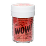 American Crafts - Wow! Iridescent Glitter - Extra Fine - Scarlet