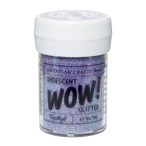 American Crafts - Wow! Iridescent Glitter - Extra Fine - Amethyst