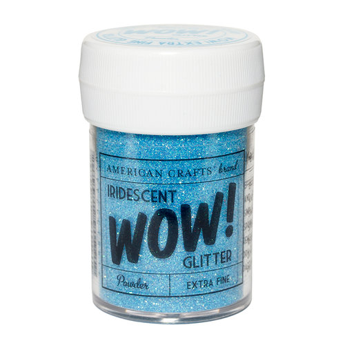 American Crafts - Wow! Iridescent Glitter - Extra Fine - Powder