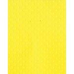 Bazzill Basics - 8.5 x 11 Cardstock - Dotted Swiss - Lemon Zest