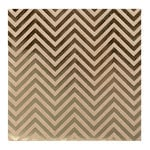 Bazzill Basics - 12 x 12 Kraft Paper With Foil Accents - Chevron