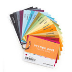 Bazzill Basics - Swatch Books - 2015 - Orange Peel