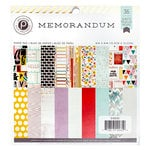 Pink Paislee - Memorandum Collection - 6 x 6 Paper Pad