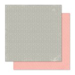 Pink Paislee - Cedar Lane Collection - 12 x 12 Double Sided Paper - Main Street