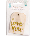 Pink Paislee - Cedar Lane Collection - Fabric Tags