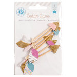 Pink Paislee - Cedar Lane Collection - Paper Arrows