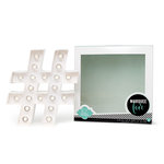 Heidi Swapp - Marquee Love Collection - Marquee Kit - Hashtag, COMING SOON