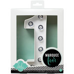 Heidi Swapp - Marquee Love Collection - Marquee Kit - Number 1