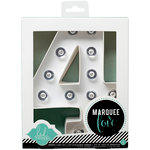 Heidi Swapp - Marquee Love Collection - Marquee Kit - Number 4