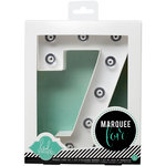 Heidi Swapp - Marquee Love Collection - Marquee Kit - Number 7