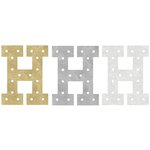 Heidi Swapp - Marquee Love Collection - Marquee Inserts - 8 Inches - H - Gold, Silver, and White Glitter - 3 Pack