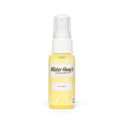 American Crafts - Studio Calico - Mister Huey's Color Mist - 1 Ounce Bottle - Buttercup - Yellow
