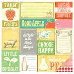 American Crafts - Studio Calico - South of Market Collection - 12 x 12 Double Sided Paper - Farm Fresh