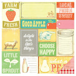Studio Calico - South of Market Collection - 12 x 12 Double Sided Paper - Farm Fresh