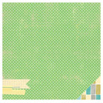 American Crafts - Studio Calico - South of Market Collection - 12 x 12 Double Sided Paper - Green Acres