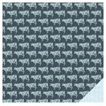 American Crafts - Studio Calico - South of Market Collection - 12 x 12 Double Sided Paper - Grass Fed