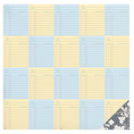 American Crafts - Studio Calico - South of Market Collection - 12 x 12 Double Sided Paper - Date Due