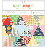American Crafts - Studio Calico - South of Market Collection - 6 x 6 Paper Pad