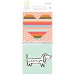 Studio Calico - Seven Paper - Baxter Collection - Handbook - 4 x 4 Journaling Cards - Dogs