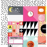 Studio Calico - Seven Paper - Amelia Collection - 12 x 12 Double Sided Paper - Paper 001
