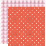 Studio Calico - Seven Paper - Amelia Collection - 12 x 12 Double Sided Paper - Paper 004