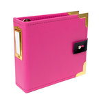 Studio Calico - Seven Paper - Amelia Collection - Handbook - 4 x 4 Album - Pink