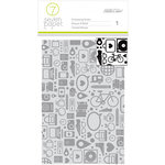 Studio Calico - Seven Paper - Amelia Collection - Embossing Folder