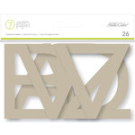 Studio Calico - Seven Paper - Amelia Collection - Chipboard Letters