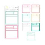 Studio Calico - Seven Paper - Clara Collection - 4 x 4 Handbook Journaling Cards