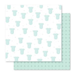Studio Calico - Seven Paper - Clara Collection - 12 x 12 Double Sided Paper - Paper 001