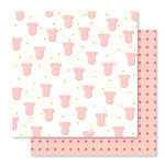 Studio Calico - Seven Paper - Clara Collection - 12 x 12 Double Sided Paper - Paper 006
