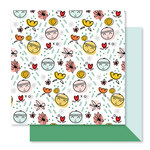 Studio Calico - Seven Paper - Clara Collection - 12 x 12 Double Sided Paper - Paper 011