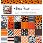 American Crafts - Halloween Collection - 12 x 12 Paper Pad - Hocus Pocus
