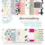 American Crafts - Dear Lizzy Collection - Documentary - 6 x 6 Paper Pad