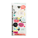 American Crafts - Dear Lizzy Collection - Documentary - Cardstock Stickers with Foil Accents - Accent and Phrases