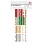 American Crafts - Christmas - Ribbon Value Pack - Very Merry - 24 Spools